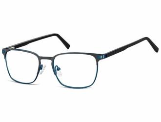 okulary oprawki optyczne korekcyjne montana 917g niebiesko-czarne
