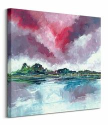 Red Skies in Norfolk - obraz na płótnie