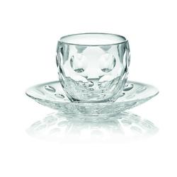 Guzzini - venice - filiżanka do espresso, transparentna