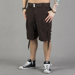Spodnie surplus - division shorts brown