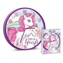 Zegar ścienny unicorn jednorożce