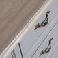 Komoda catania z 5 szufladami w prowansalskim stylu wys. 101 cm