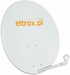 Czasza antena satelitarna 80 cm biała z logiem eltrox.pl - szybka dostawa lub możliwość odbioru w 39 miastach