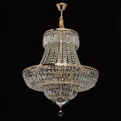 Ekskluzywny, kryształowy 9 punktowy żyrandol chiaro crystal 340011409