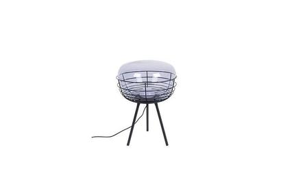 Zuiver :: lampa stołowa smokey czarna wys. 50 cm
