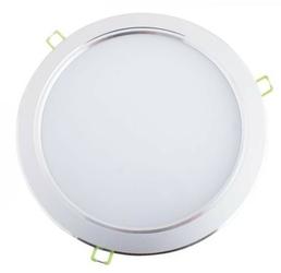 Oprawa stropowa downlight led 18w - 3000k biały ciepły - biała obudowa