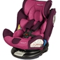 Babysafe labrador violet fotelik obrotowy 0-36kg + organizer