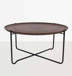 Urban nature culture :: stolik z wyciąganym blatem fez ciemnobrązowy