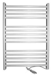 Grzejnik elektryczny siena 400x720, biały elektryczny suchy, suszarka łazienkowa