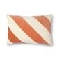 Hk living :: poduszka velvet brzoskwiniowo-kremowa 40x60