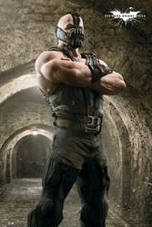Batman the dark knight rises bane sewer - plakat
