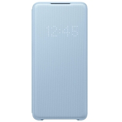 Samsung etui led view cover sky blue do galaxy s20