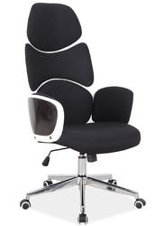 Designerski fotel obrotowy z podłokietnikami q-888