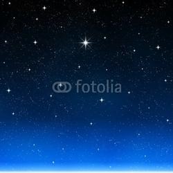 Obraz na płótnie canvas trzyczęściowy tryptyk jasna gwiazda