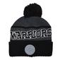 Czapka zimowa mitchell  ness nba golden state warriors team tone knit - golwar intl534