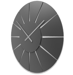 Zegar ścienny extreme l calleadesign aluminium 10-326-2