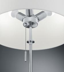 Stojąca lampa z regulowaną wysokością lyon nikiel