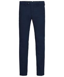 Męskie granatowe spodnie typu chino  3834