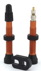 Zawory trezado do systemów bezdętkowych pomarańczowe - 2 sztuki 48mm