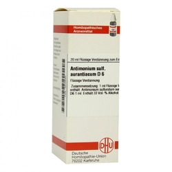Antimonium sulf. aurant. d 6 dil.