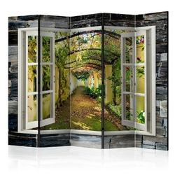 Parawan 5-częściowy - tajemniczy ogród ii parawan