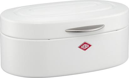 Pojemnik na pieczywo single elly matt biały