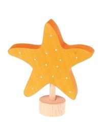 Drewniana figurka, rozgwiazda, grimms