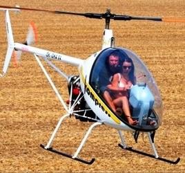 Lot zapoznawczy helikopterem - sosnowiec - 20 minut