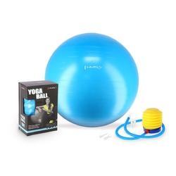 Piłka gimnastyczna yb01 75 cm lazurowa - hms