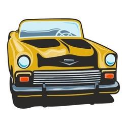 Naklejka kolorowa auto 132