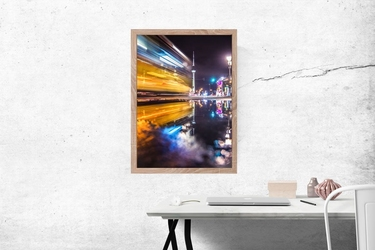 Berlin wieża - plakat premium wymiar do wyboru: 40x60 cm