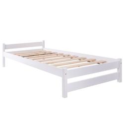 Łóżko drewniane Toronto 90x200 lakierowane białe
