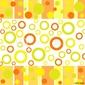 Obraz na płótnie canvas dwuczęściowy dyptyk funky jesienne wzory