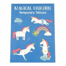 Tatuaże zmywalne dla dzieci, Magiczny Jednorożec, Rex London - magiczny jednorożec