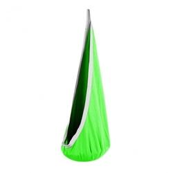 Kokon ogrodowy mocny dla dzieci huśtawka hamak zielony