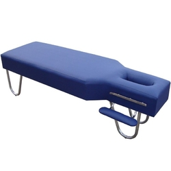 Stół do masażu komfort stal sa-001 dark blue