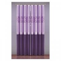 Zasłona zoe 150 x 250 cm fioletowy-liliowy