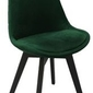 Krzesło fagio black -  zielone