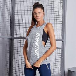 Koszulka damska labellamafia blouse heather grey
