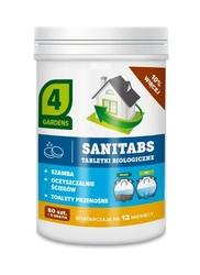 Sanitabs – tabletki biologiczne do szamba i oczyszczalni – 4gardens