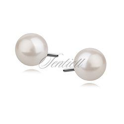 Srebrne kolczyki pr.925 perła