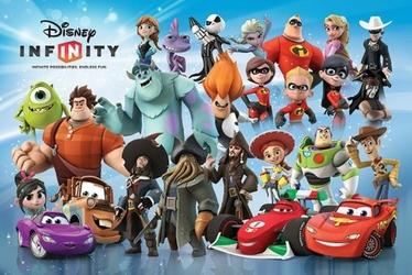 Disney Infinity - Bohaterowie - plakat