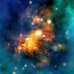 Obraz na płótnie canvas dracońska mgławica