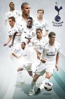 Tottenham hotspur players 1213 - plakat