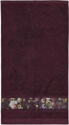 Ręcznik fleur śliwkowy 30 x 50 cm