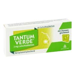 Tantum verde 3 mg pastylki o smaku cytrynowym