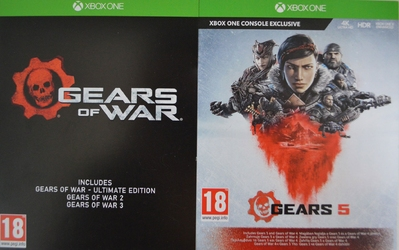 Gra xbox one gears 5 + kolekcja gears of war origin cd-key
