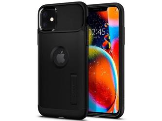 Etui spigen slim armor do apple iphone 11 black - czarny