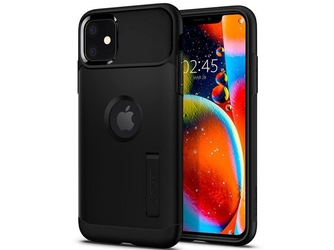 Etui spigen slim armor do apple iphone 11 black - czarny