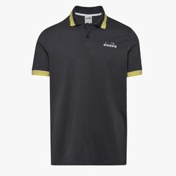 Koszulka męska diadora ss polo chromia - czarny